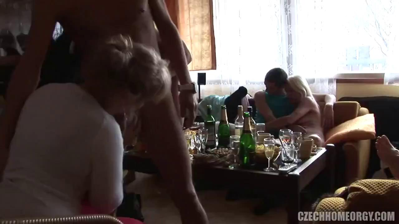 Czech Home Orgy 4 part 1