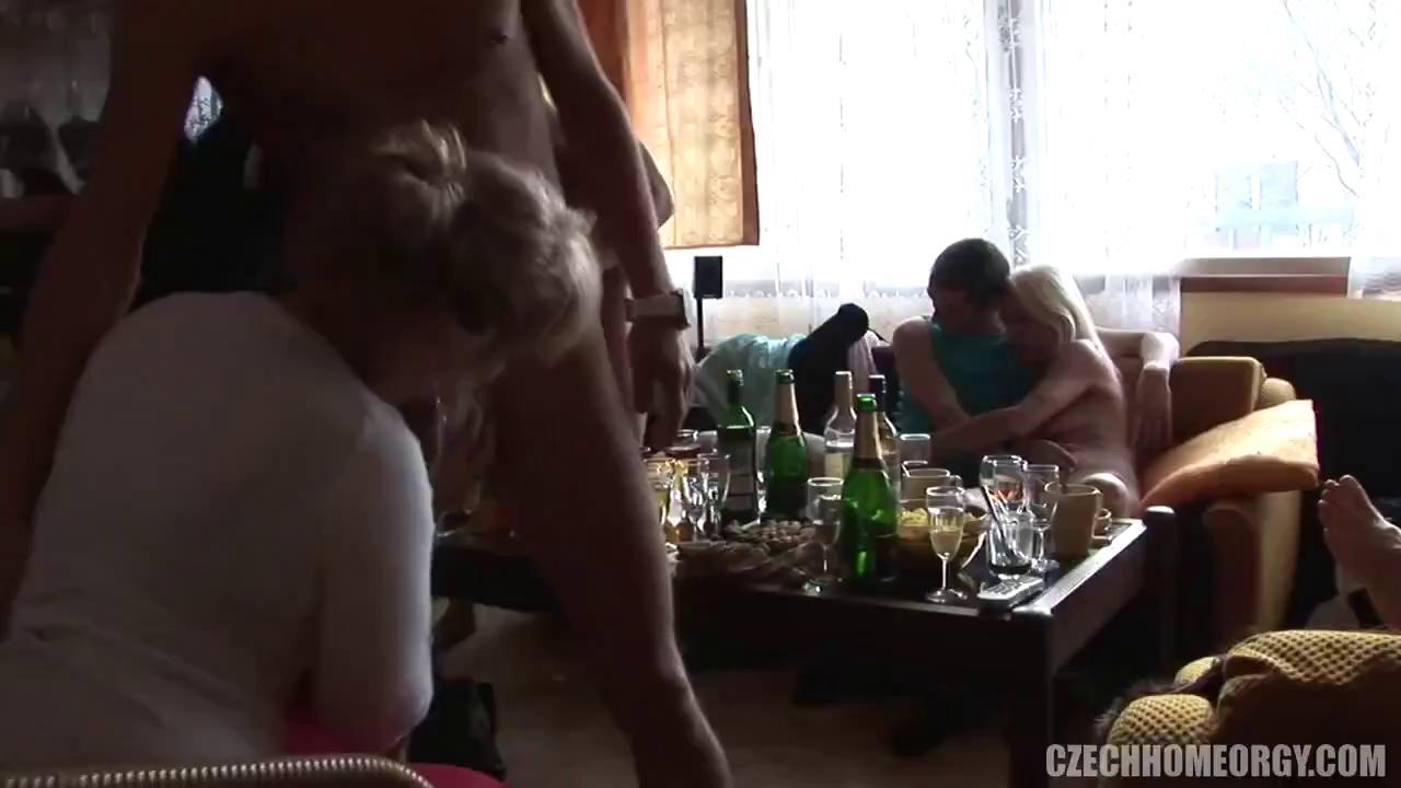 Czech Home Orgy 4 part 1